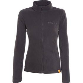 axant Nuba Fleece Jas Dames, black